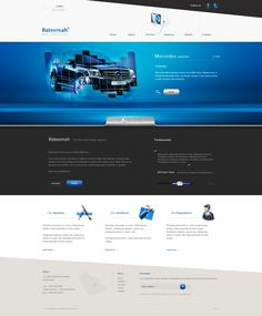 #template #automobile #voiture #bluewebdesign