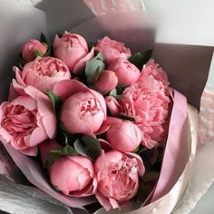 What would life be without a dainty bouquet of Pink peonies😊. What would life be without a dainty bouquet of Pink peonies😊. Fresh Flowers, Pretty Flowers, Pink Flowers, Exotic Flowers, No Rain, Deco Floral, Flower Aesthetic, Pink Peonies, Peonies Bouquet