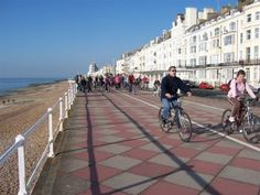 Hastings and Bexhill Waterfront is a route on the National Cycle Network, connecting Hastings to Bexhill-on-Sea. Us Map, Street View, Explore, Exploring, United States Map