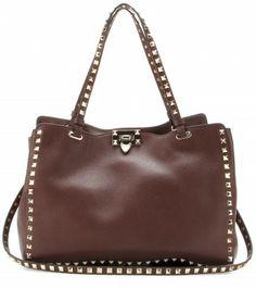 Valentino - Rockstud leather tote  - mytheresa.com GmbH