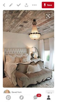 20 Modern Ideas for Master Bedroom Decor Comfy Bedroom, Bedroom Decor, Bedroom Ideas, Bed Ideas, Bedroom Furniture, Serene Bedroom, Shabby Bedroom, Casa Kardashian, Wooden Ceilings