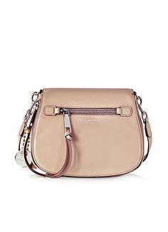 Marc+Jacobs+Recruit+Small+Borsa+in+Pelle+Nude+con+Tracolla