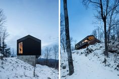 Naturehumaine | Bolton Residence - Bolton East, Quebec, Canada
