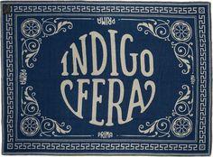 100% Norwegian Wool: Indigofera blanket / blue logo (via Selectism)