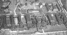 Salford Hope Hospital, - my grandad was born into the workhouse which backed onto this poor law infirmary - in 1901 ( my mums real dad Vincent Routledge) Salford City, Slums, Working Class, My Heritage, Ancestry, Uni, Childhood Memories, Manchester, 1940s