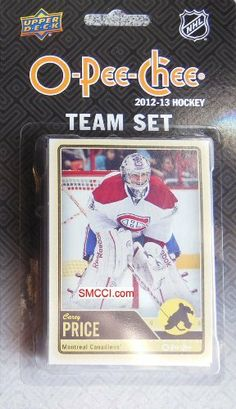Montreal Canadiens 2012 / 2013 O Pee Chee Hockey Brand New Factory Sealed 18 Card Team Set Made By Upper Deck Including Carey Price, P.k. Subban, Max Pacioretty, Raphael Diaz, Tomas Kaberle, Erik Cole, Travis Moen, Lars Eller, Mathieu Darche, Brian Gionta, Rene Bourque, Peter Budaj, Josh Gorge, Tomas Plekanec, Chris Campoli, David Desharnais and Brandon Prust. by Montreal Canadien.... $9.99. Montreal Canadiens 2012 / 2013 O Pee Chee Hockey brand new factory seale...