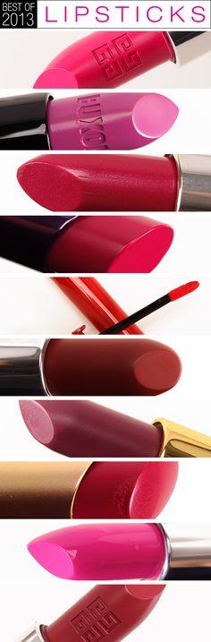 Top 10 of 2013: Best Lipsticks