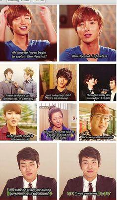 Me gusta lo que yo digo, el resto son feos;;(?).