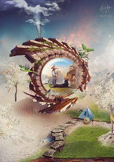 Cool Digital Art By Brice Chaplet
