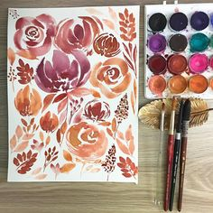 #showyourwatercolor Instagram showyourwatercolor images, photos, people, and places