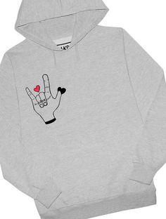 Love Fingers Hoodie