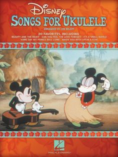 Disney Songs for Ukulele Songbook by Jim Beloff.  Deb: Purchased 4-23-14 from The Strum Shop, Roseville, CA. Shows chord fingerings, sheet music and lyrics. No tabs. (BK#23)