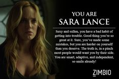 I took Zimbio's 'Arrow' quiz and I'm Felicity Soak!! Which is awesome cause she is probably my favorite haha