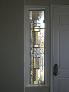 Stained Glass Design Showcase - sidelight window