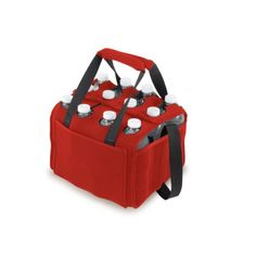 Picnic Time Twelve Pack Insulated Beverage Tote (Red) * Check out the image by visiting the affiliate link Amazon.com on image.