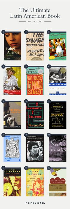 The Ultimate Latin American Literature Bucket List