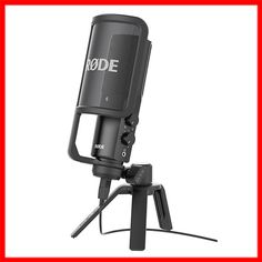 """Rode NT-USB is a cardioid, side-address USB microphone with an integrated headphone amplifier and stereo headphone jack that allows for latency-free monitoring. Rode NT-USB includes the feature of a """"Direct Mix Control"""" which allows you to select between mic input and source input for monitoring. $199 #rode   #rodemicrophones   #rodemics   #usbmicrophones   #usbmic   #podcasting   #podcast   #musiclab http://www.musiclab.com.au/product-info/rode-nt-usb-cardioid-usb-microphone-desk-style/"""