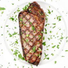The Patio Daddy-O USDA Prime New York Strip Steak Box ~ Black Garlic and Truffle