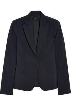 THEORY Stretch-Crepe Blazer. #theory #cloth #blazer