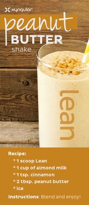 Smoothies are a simple solution for busy days. Whether you are making one for breakfast, a snack, or to refuel after a workout, smoothies are both delicious and convenient. They are easy to make and packed full of nutrients. Our peanut butter lean shake is a nutritious solution for busy days.