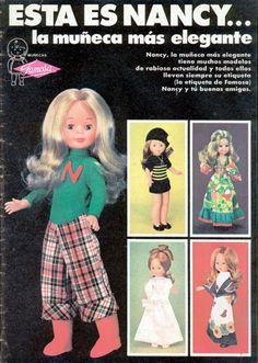 Ésta es Nancy Nancy Doll, Toy Catalogs, Old Toys, Vintage Dolls, London Fashion, Beautiful Dolls, Fashion Dolls, New Look, Doll Clothes