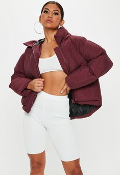Shop coats & jackets right here at Missguided and prepare to look hot when the weather's not. Women's Puffer, Puffer Jackets, Yellow Puffer Jacket, Coats For Women, Jackets For Women, Winter Warmers, Jackets Online, Sweater Weather, Missguided