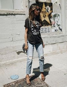 Ideas fashion summer jeans sincerely jules for 2019 - Style Cute Fashion, Trendy Fashion, Spring Fashion, Girl Fashion, Fashion Ideas, Fashion Inspiration, Fashion Outfits, Sincerely Jules, Casual Winter Outfits