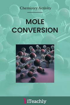 In Chemistry, the measure the amount of a substance in a unit is called a 'mole'. It is a convenient way of counting atoms and allows chemists to make predictions about the masses of different substances that are involved in reactions. Grab this free science lesson here but be sure to sign up for FULL access! #iteachly #science #chemistry #lab #experiment #10thgrade #teacher #highschool #homeschool Chemistry Worksheets, Chemistry Lessons, Biology Lessons, Chemistry Experiments, Chemistry Labs, Science Lessons, Science Chemistry, Science Fun, Preschool Science
