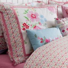 Water flower cushion cover pink $19.95