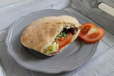 Pitta, Ciabatta, Salmon Burgers, Tofu, Bread Recipes, Side Dishes, Sandwiches, Food And Drink, Meals