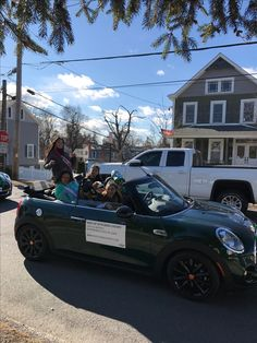 We had a great time motoring in the Village of Wappingers St.Patricks day parade! #MINIofDutchessCounty #MINI #StPatricksDayParade