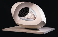 Barbara Hepworth - Sculpture with Colour Pale Blue...