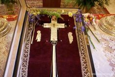 Fragment of the Holy True Cross is housed at the Monastery of Saint Paraskevi, Vikos Gorge, in the region of Zagori, Greece Holy Cross, Jesus On The Cross, Crucifixion Of Jesus, Holi, Religion, Greece, Jesus Crucifixion, Greece Country, Santa Cruz