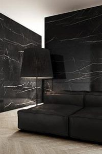 Belgium Black Marble Feature Wall
