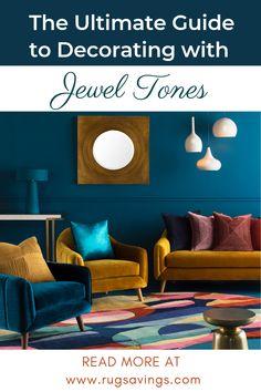 63 ideas for bedroom rug placement queen simple Jewel Tone Room, Jewel Tone Decor, Jewel Tone Colors, Jewel Tones, Colourful Living Room, Living Room Colors, Rugs In Living Room, Dark Teal Living Room, Dark Teal Bedroom