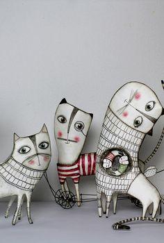 Cats, Papier Machè
