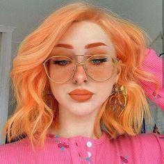 Cute Hair Colors, Pretty Hair Color, Hair Dye Colors, Dye My Hair, New Hair, Hair Inspo, Hair Inspiration, Aesthetic Hair, Pink Hair