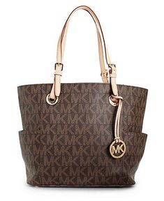 MICHAEL Michael Kors Handbag, Signature Tote - Handbags & Accessories - Macy's