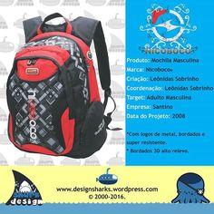 Mochila top em acabamento e detalhes. Marca nicoboco.  #nicoboco #surf #bags #backpack #productdesign #projectdesign #graphicdesign #design #desenho #desenvolvimentodeprodutos #leonidasdesigner #sharks