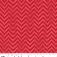 Zoe Pearn - The Sweetest Thing - Chevron in Red fabric ... I also love the blue and yellow colorways.