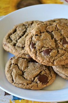 "Cardamom and Espresso Chocolate Chip Cookies | ""YUM! These are wonderful cookies. I didn't change anything and they baked perfectly in about 12 minutes for me."" #cookies #cookierecipes #bakingrecipes #dessertrecipes #cookieideas"