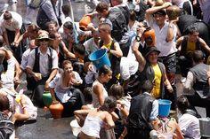 Refuerzan servicios sanitarios en Lomo Magullo por la Traída del Agua.