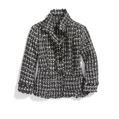 Stitch Fix Winter Essentials: Switch up your work wardrobe with a tweed jacket. Opt for this textured style to give your basic blazer a break.