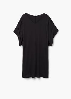 Vestido oversize -  Mujer   MANGO España
