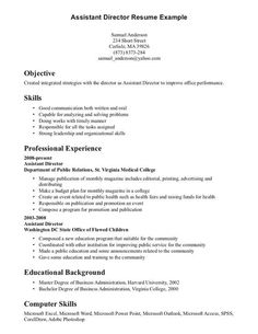 personal attributes examples for resume