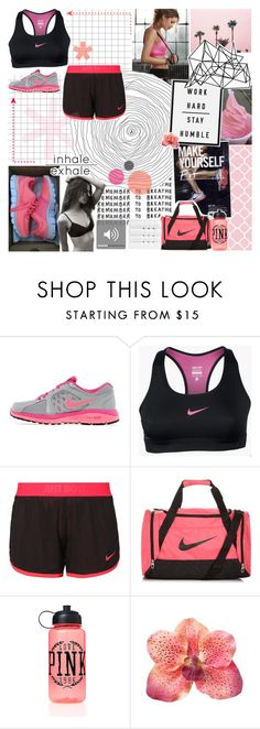 """""""~ O7O915 // 14 people tag"""" by khieug ❤ liked on Polyvore featuring NIKE, Victoria's Secret PINK, Color Me, Christy and raeleespenguin"""