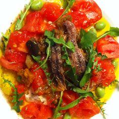 Dandelion Recipes, Good Food, Yummy Food, Wild Edibles, Edamame, Eggplant, Mozzarella, Great Recipes, Morocco