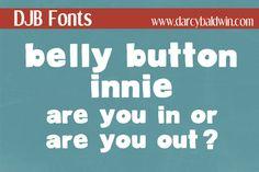 DJB Belly Button Innie by Darcy Baldwin on Creative Market