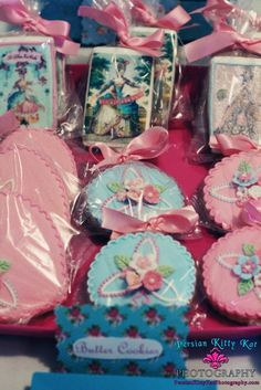 Marie Antoinette Party Theme Cookies  www.SouthFLWeddingPlanner.com