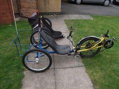 Recumbent Bicycle, Drum Brake, Day Bag, Mk1, Python, My Life, Cycling, Vehicles, Log Projects